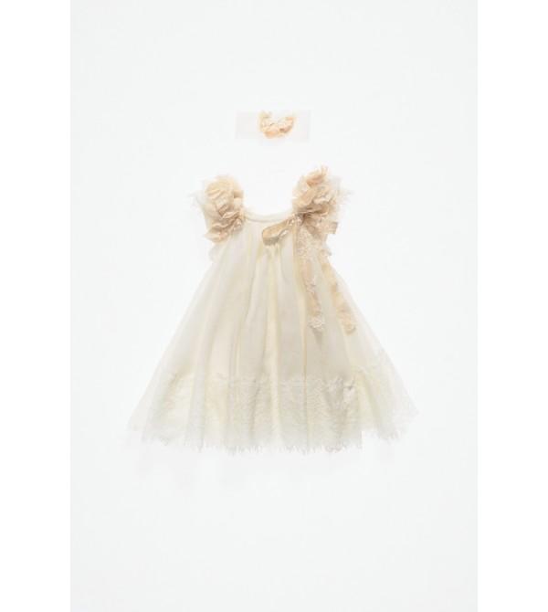 Βαπτιστικό χειροποίητο φόρεμα ΝΕΦΕΛΗ