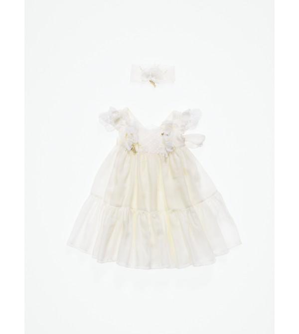 Βαπτιστικό χειροποίητο φόρεμα ΑΡΙΑΔΝΗ