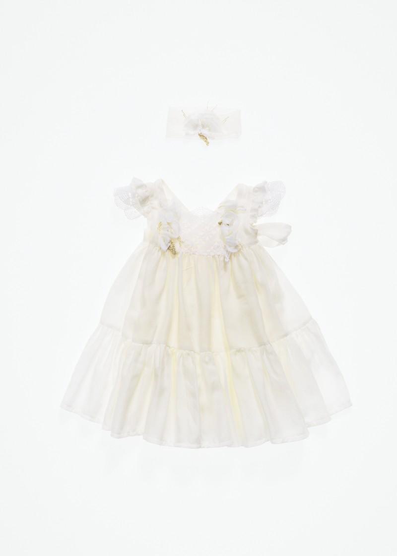 Βαπτιστικό χειροποίητο φόρεμα ΑΡΙΑΔΝΗ ΚΟΡΙΤΣΙ