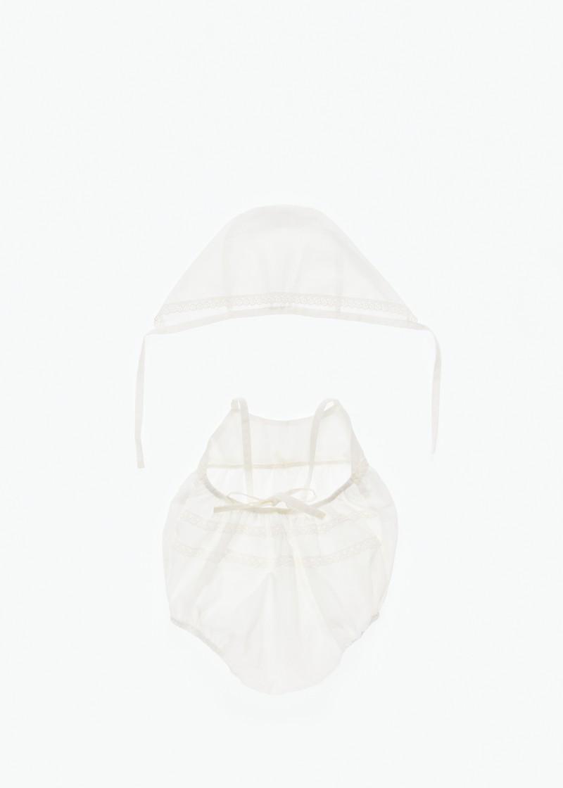 Λαδόπανα βαμβακερά για κορίτσι ΑΞΕΣΟΥΑΡ ΒΑΠΤΙΣΗΣ