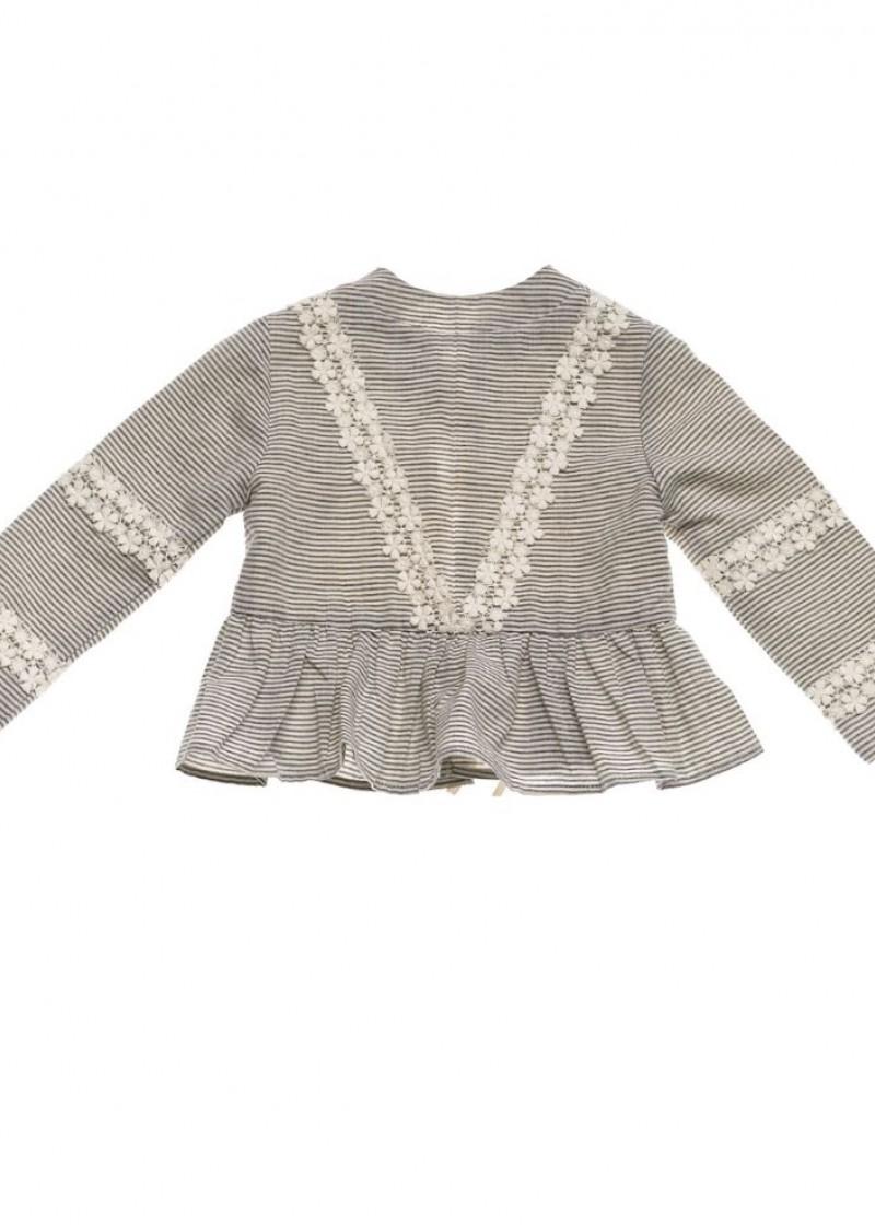 Παιδικά ρούχα - ΠΑΙΔΙΚΗ ΖΑΚΕΤΑ ΡΙΓΑ ΚΟΡΙΤΣΙ